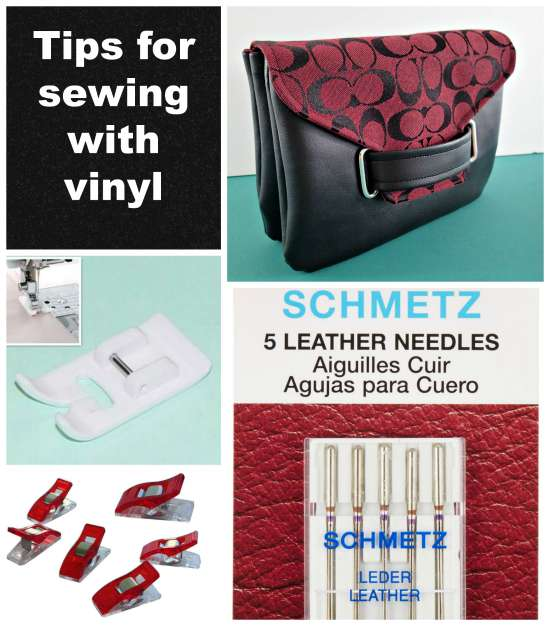 Tips for Sewing with Vinyl
