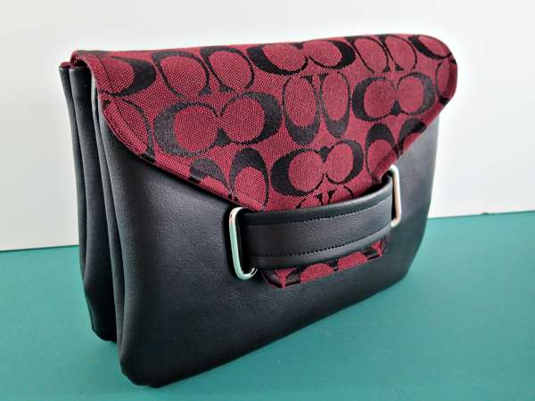 Envelope clutch sewing pattern