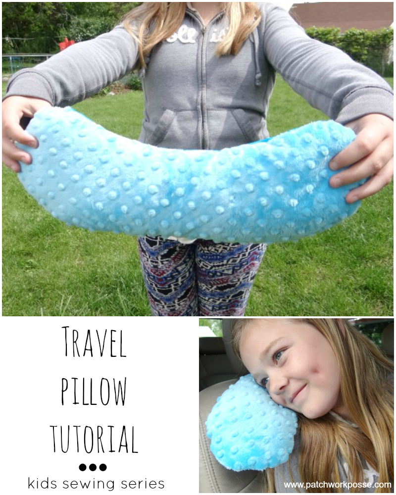 Travel pillow tutorial