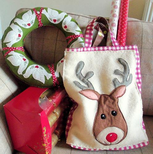 Reindeer Tote Bag pattern