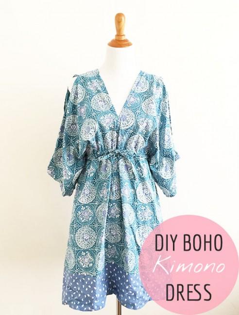 Boho Kimono Dress