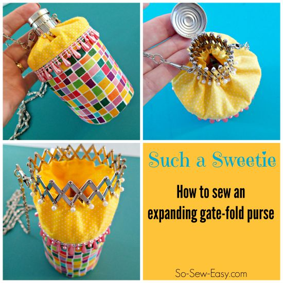 Gate fold bag pattern