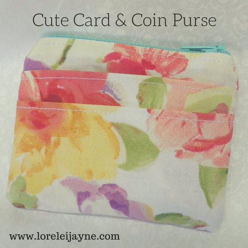 Card coin purse tutorial