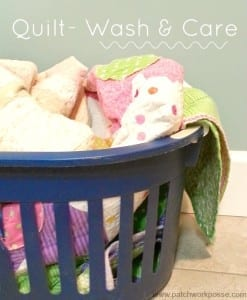 How to take care of your quilt