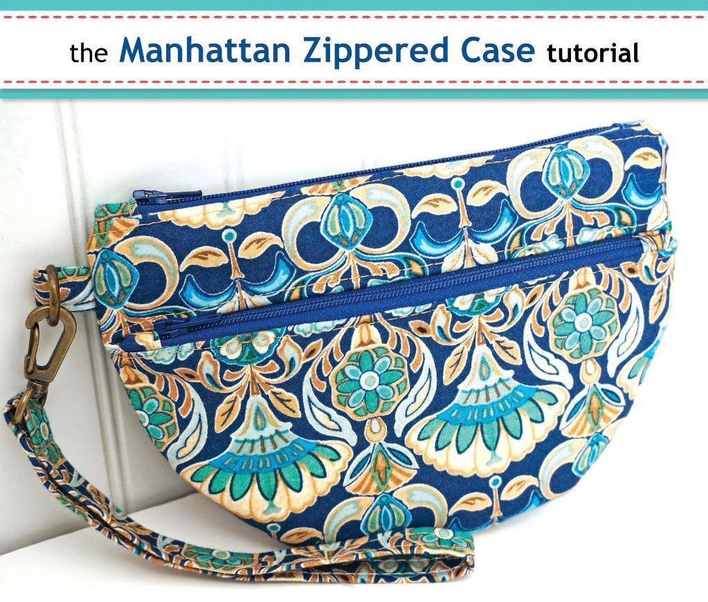 Zippered case tutorial