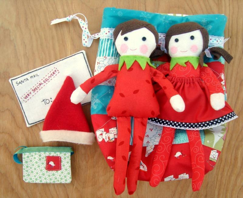 Elf doll pattern