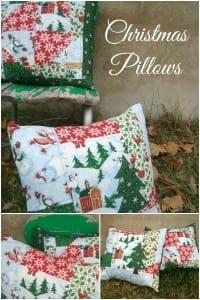 Christmas pillow tutorial