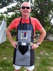 Darth Vader apron pattern