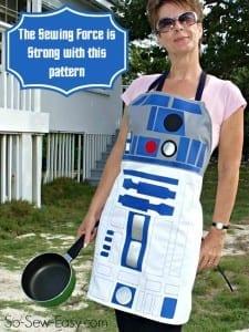 Star Wars apron pattern