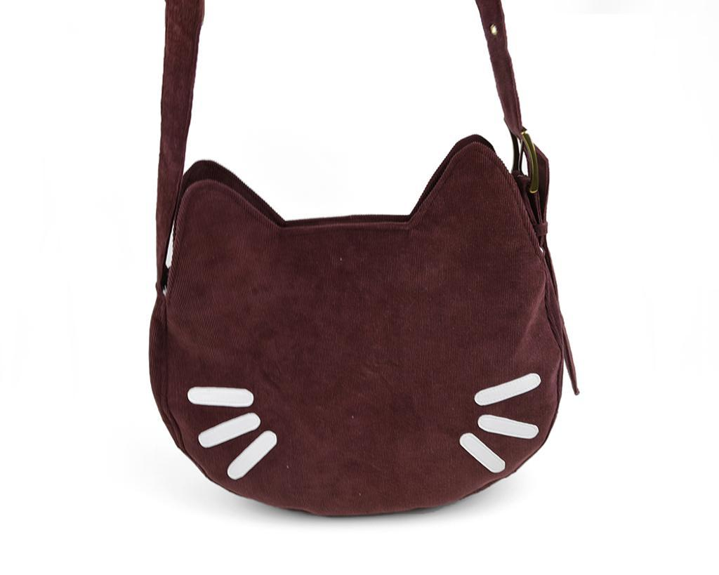 Kitty cat purse with buckle strap pattern sewing 4 free kitty cat purse jeuxipadfo Image collections