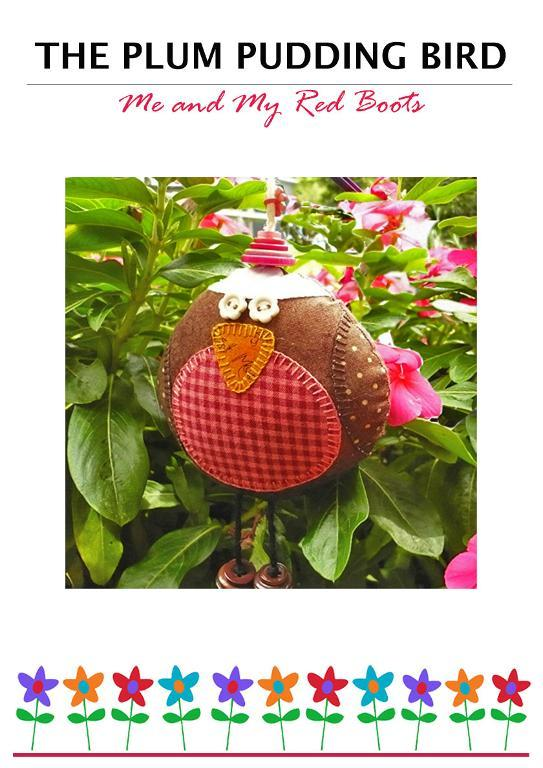 Plum Pudding Bird Free Pattern