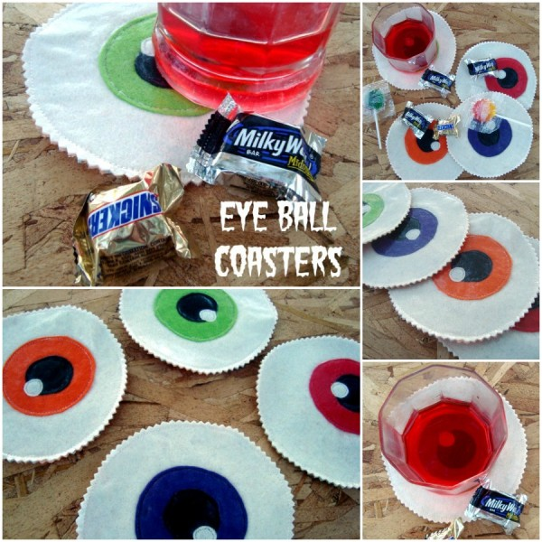 Eyeball Coasters