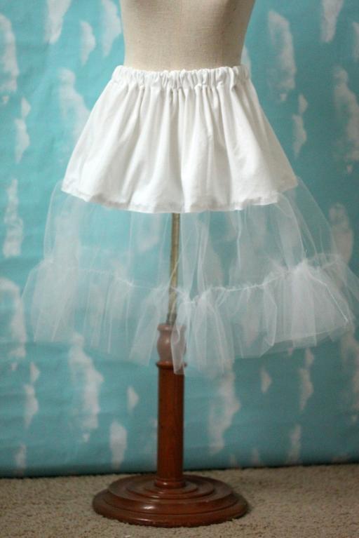 Tulle Petticoat Tutorial