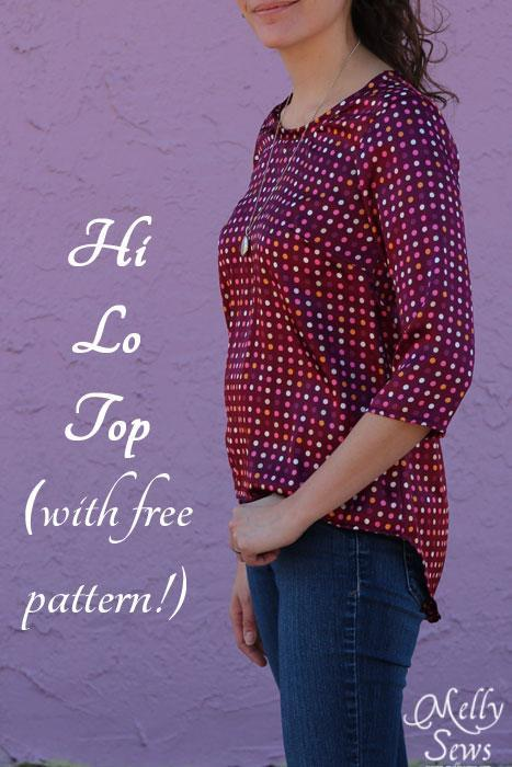 High Low top pattern