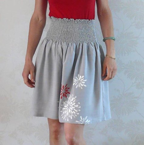 Smocked Skirt pattern