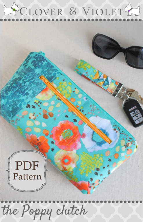 Poppy Clutch Pattern