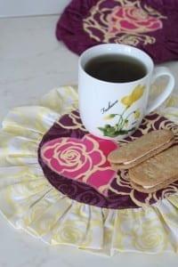 Valentines Day mug rug