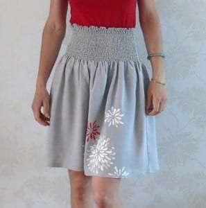 Smocked Skirt pattern