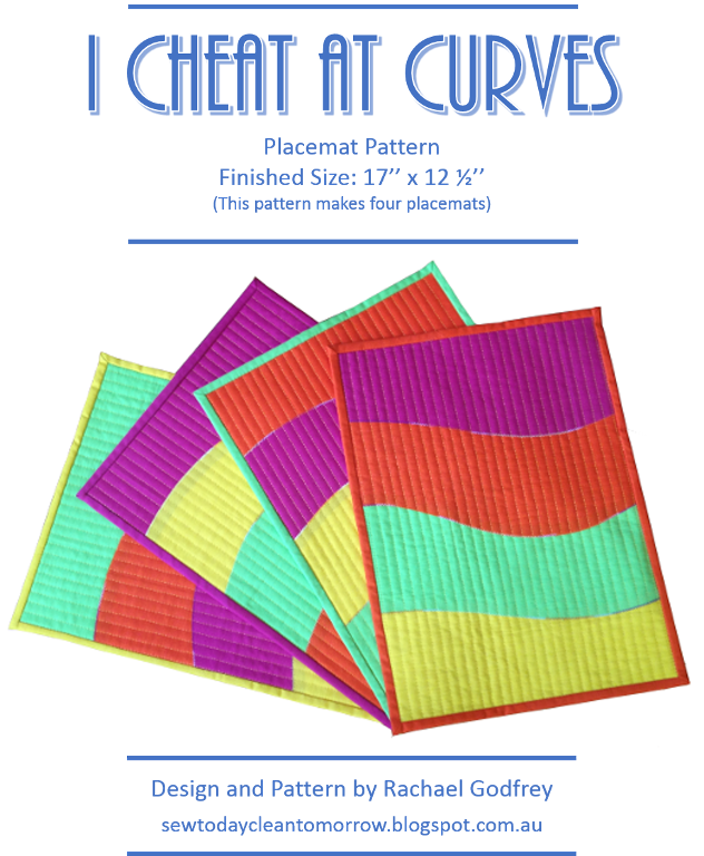 Curvy placemat pattern