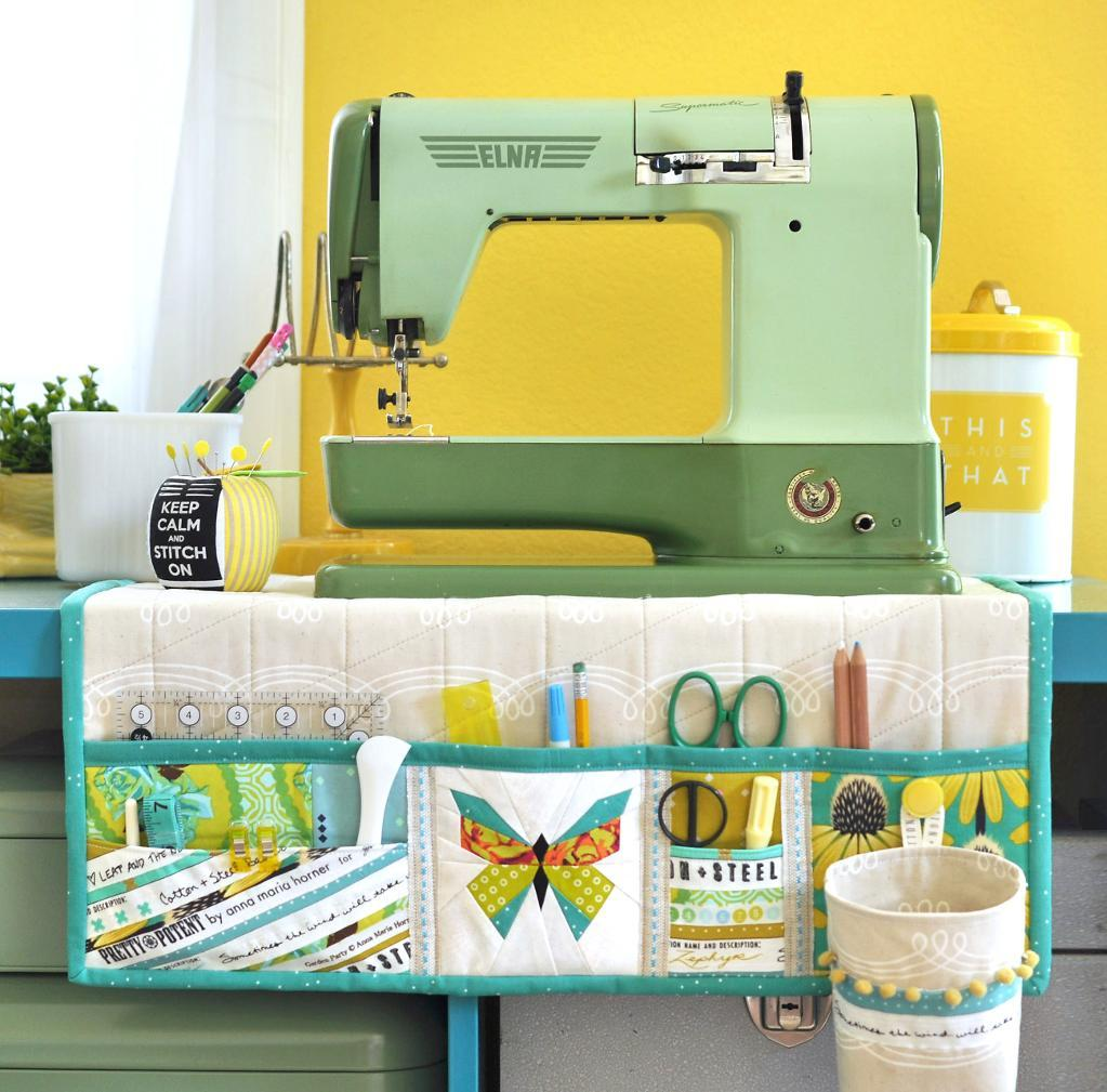 Undercover sewing machine mat