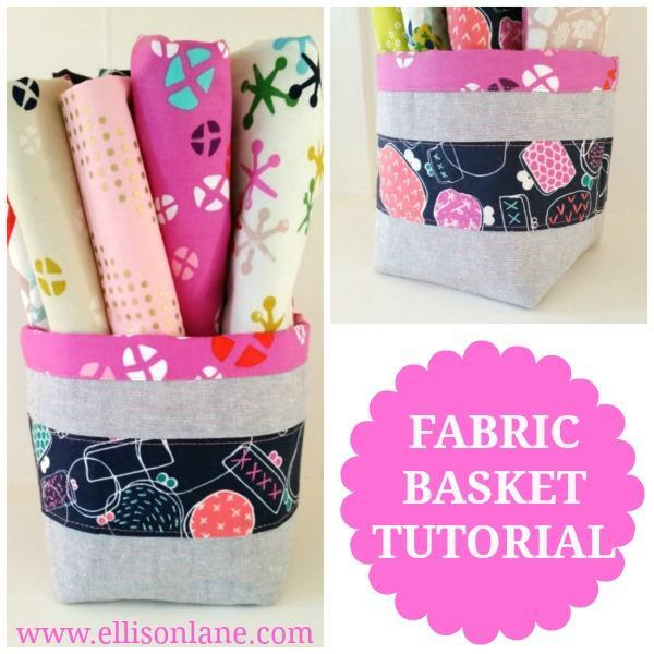 Fabric bucket pattern