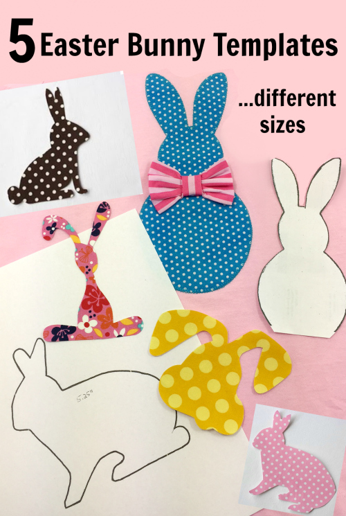 Free Bunny applique templates
