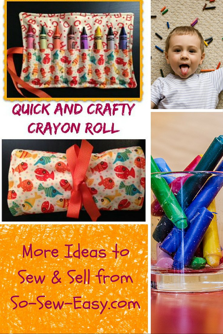 Crafty Crayon Roll Up