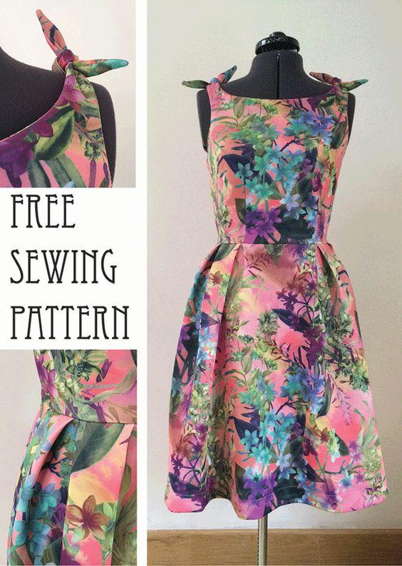 50s Style Dress pattern