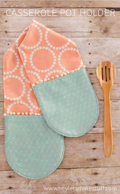 Casserole Pot Holder tutorial