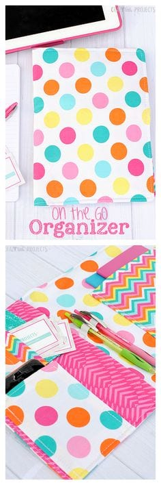 On the go organizer