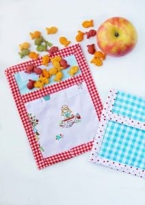 Reusable snack pouch tutorial