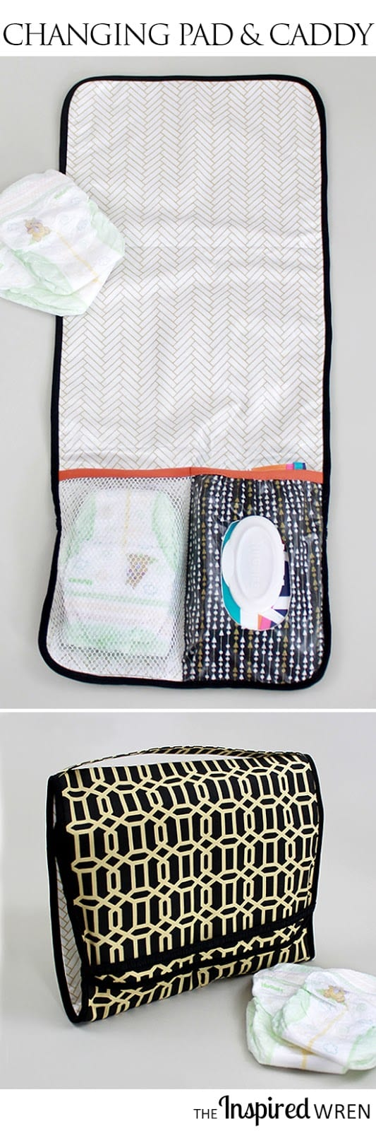 Diaper caddy tutorial