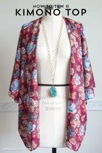 Kimono jacket tutorial