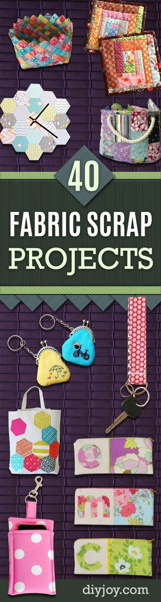 Leftover Fabric Scraps ideas