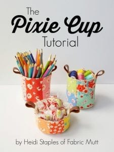 Pixie Cup Tutorial