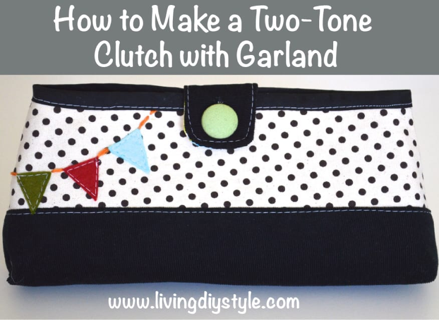 Clutch Purse with Garland