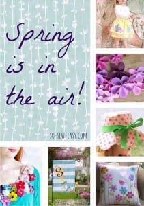 Springtime Sewing Projects