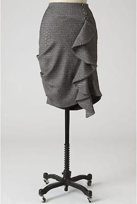 Anthropology inspired skirt