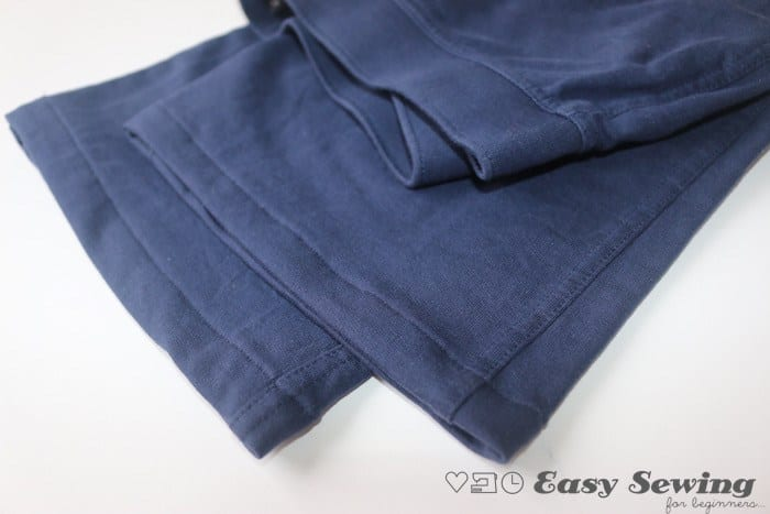 How to Hem Pants using a Straight Stitch