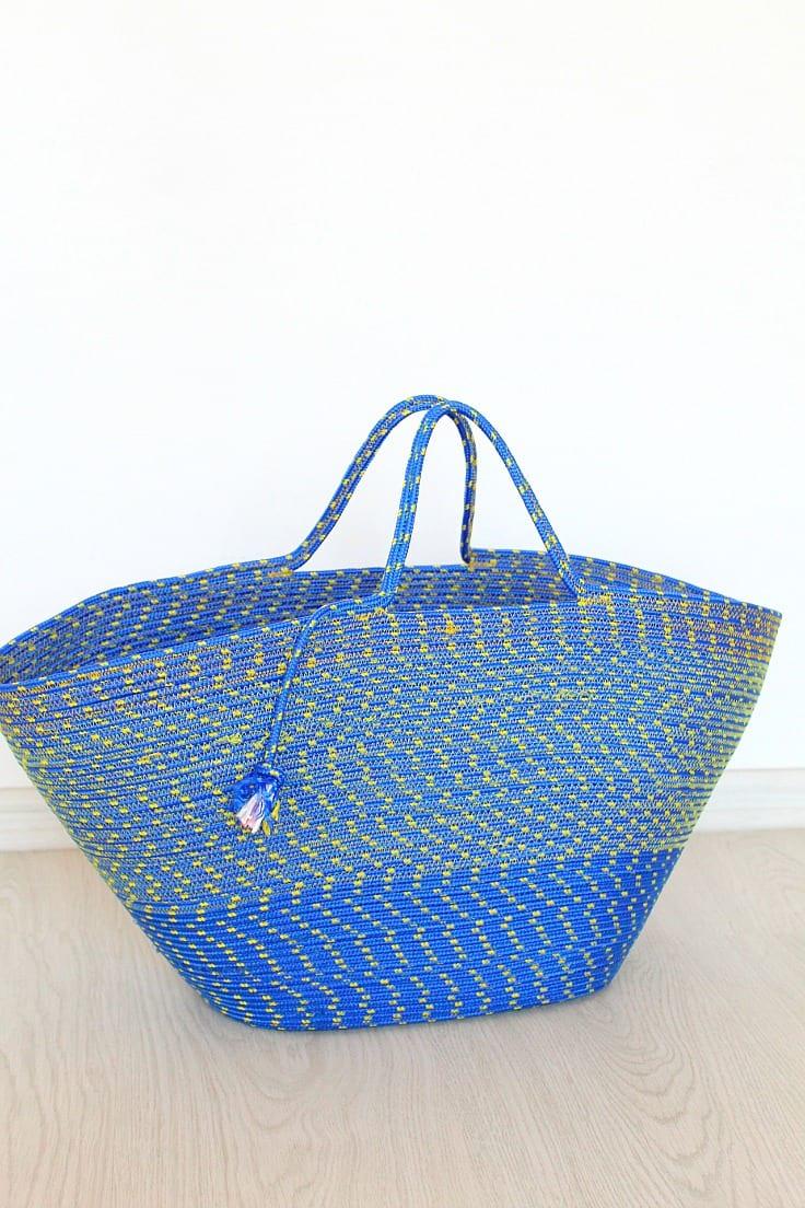 Rope bag tutorial