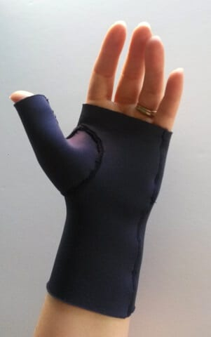 Neoprene thumb splint tutorial