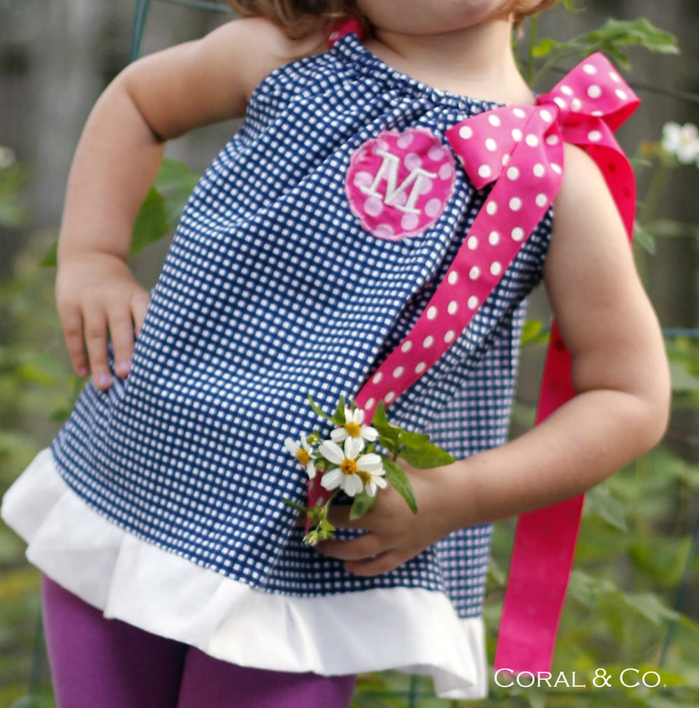 Pillowcase dress top pattern