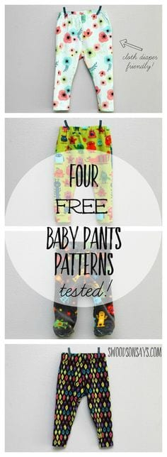 Free Baby Pants Sewing Patterns