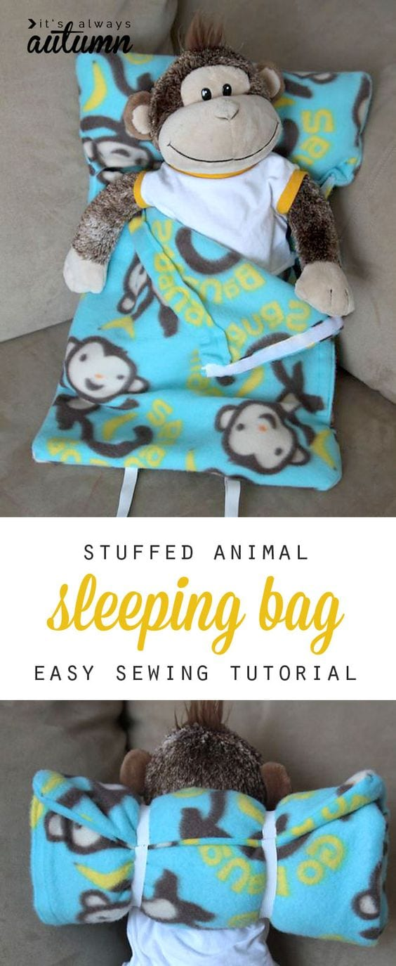 Sleeping bag tutorial