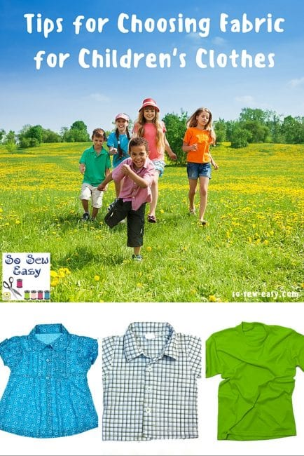 Tips for Choosing Fabric for Children's Clothes