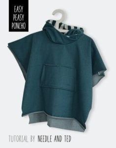 Free poncho pattern