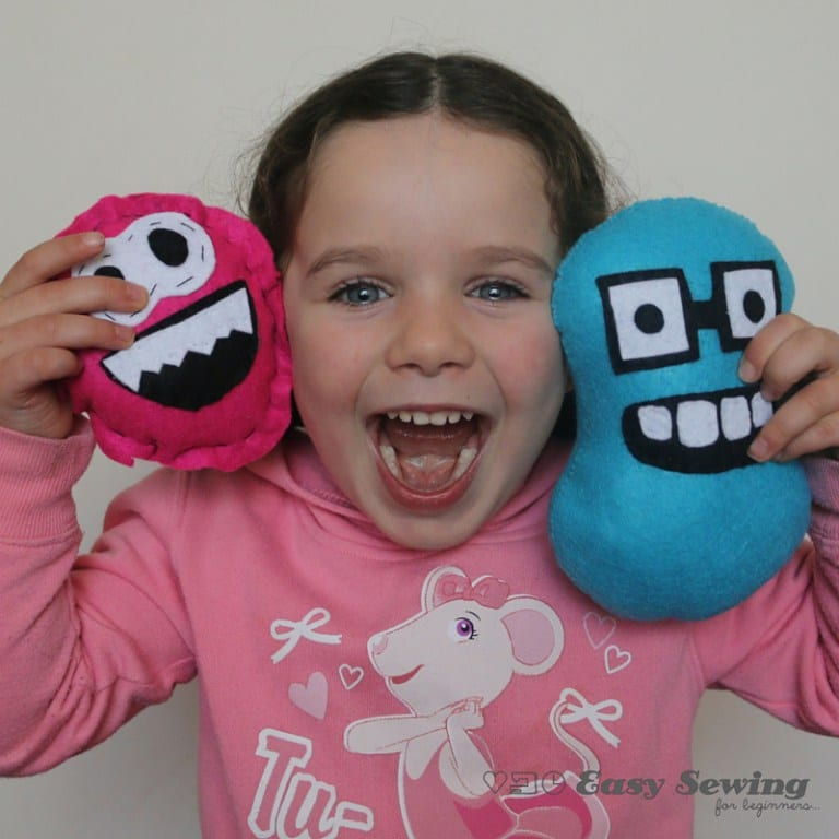 Mini monster mate sewing tutorial
