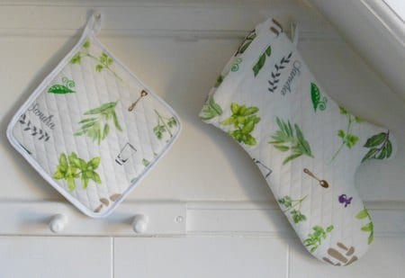 Potholder and oven glove pattern