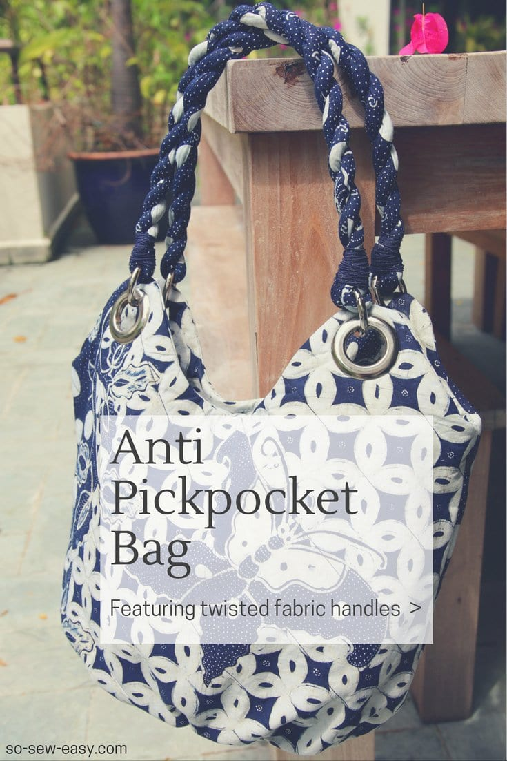 anti pickpocket purse