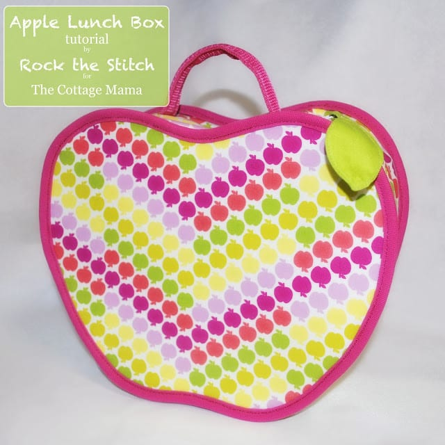 Apple lunch box tutorial